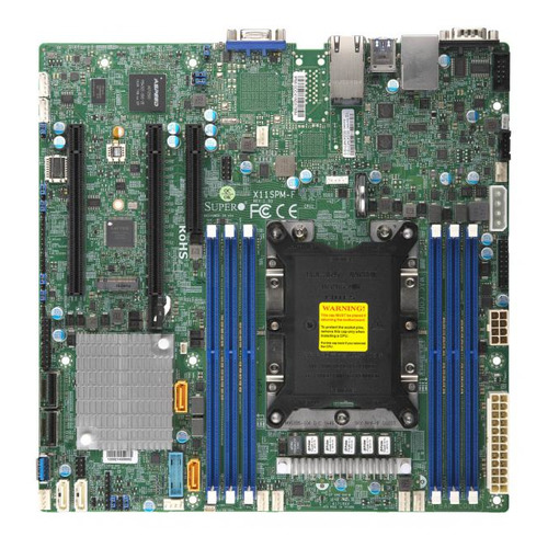 Серверная материнская плата SUPERMICRO MBD-X11SPM-F-O, Ret