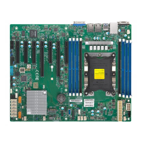 Серверная материнская плата SUPERMICRO MBD-X11SPL-F-O, Ret материнская плата supermicro mbd x11sae f o soc 1151 ic236
