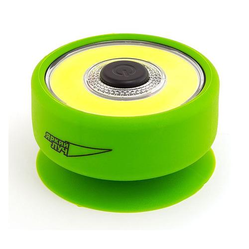 Универсальный фонарь ЯРКИЙ ЛУЧ L-210 Frog, зеленый