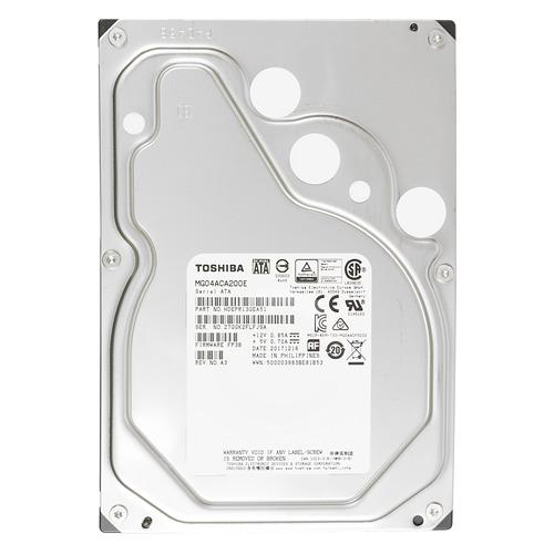 Жесткий диск TOSHIBA Enterprise Capacity MG04ACA200E, 2Тб, HDD, SATA III, 3.5