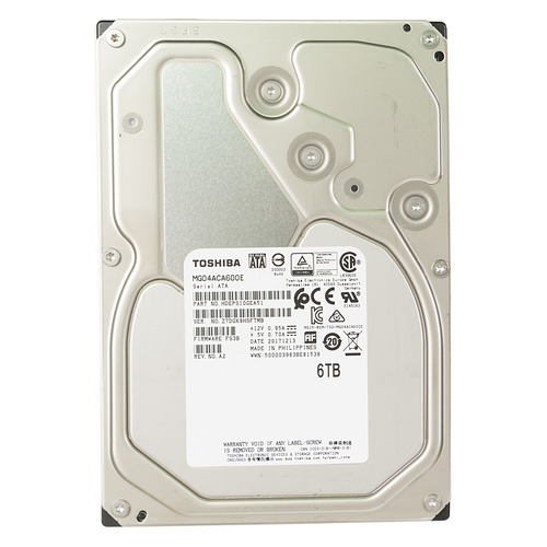 Жесткий диск TOSHIBA Enterprise Capacity MG04ACA600E, 6Тб, HDD, SATA III, 3.5 hdd диск