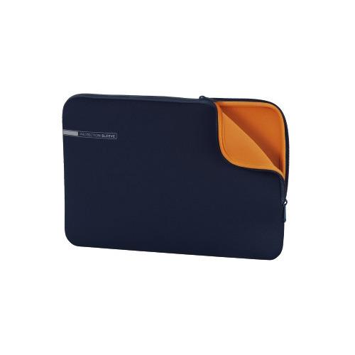 Чехол для ноутбука 13.3 HAMA Neoprene, синий/оранжевый [00101553] чехол для ноутбука 13 3 hama neoprene серый красный [00101549]