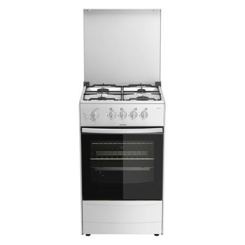 лучшая цена Газовая плита DARINA 1A GM 441 007 W, газовая духовка, белый