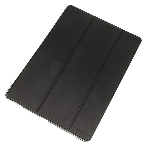 """Чехол для планшета HAMA Fold Clear, черный, для Apple iPad Pro 12.9"""" 2017 [00106476], полиуретан  - купить со скидкой"""