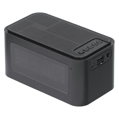 цена на Портативная колонка GINZZU GM-881B, 3Вт, черный