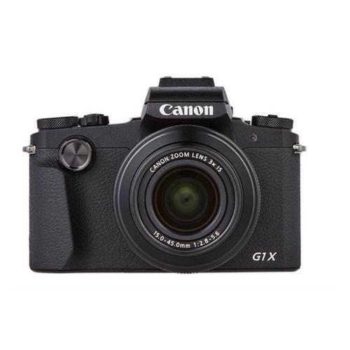 цена Цифровой фотоаппарат CANON PowerShot G1X MARK III, черный онлайн в 2017 году