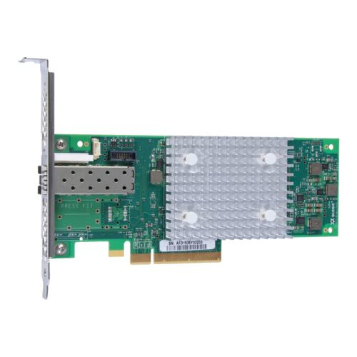 Адаптер HPE SN1100Q 16Gb Single Port Fibre Channel Host Bus (P9D93A) адаптер hp hpe sn1100q 16gb 1p fc hba