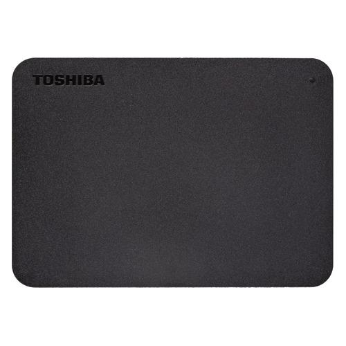 Фото - Внешний жесткий диск TOSHIBA Canvio Basics HDTB410EK3AA, 1ТБ, черный внешний жесткий диск toshiba canvio basics hdtb440ek3ca 4тб черный