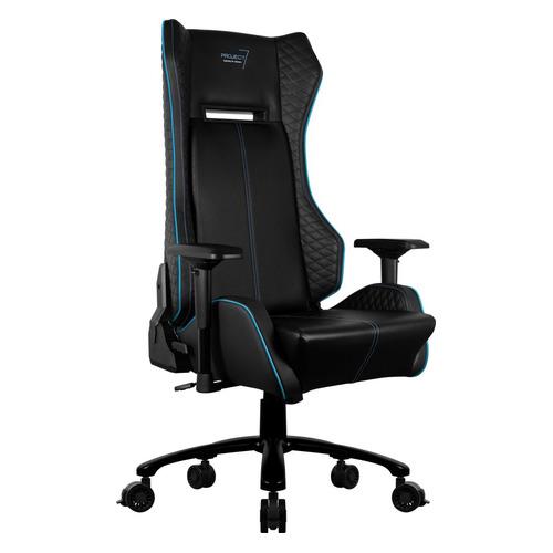 p7 ch2 air Кресло игровое Aerocool P7-GC1 AIR, на колесиках, ПВХ/полиуретан