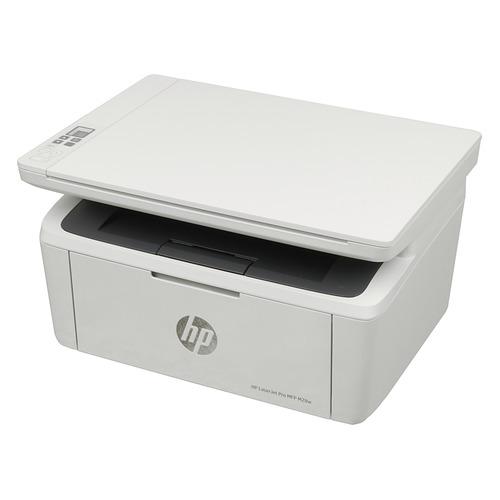 Фото - МФУ лазерный HP LaserJet Pro MFP M28w RU, A4, лазерный, белый [w2g55a] мфу лазерный hp color laserjet pro m479fnw a4 цветной лазерный белый [w1a78a]