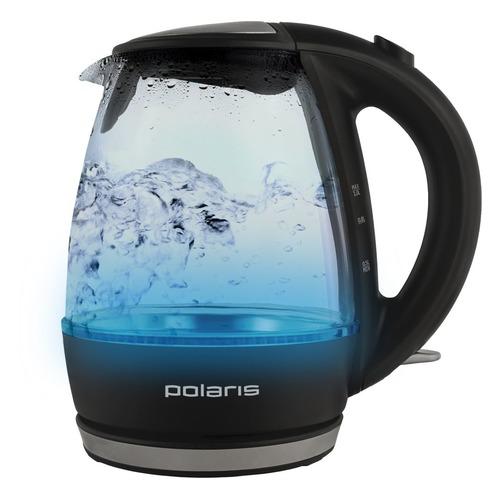 Чайник электрический POLARIS PWK 1076CGL, 2200Вт, черный чайник polaris pwk 1076cgl