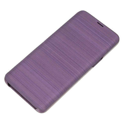 Чехол (флип-кейс) SAMSUNG LED View Cover, для Samsung Galaxy S9, фиолетовый [ef-ng960pvegru]