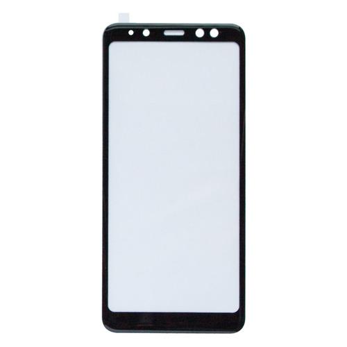 цена на Защитное стекло для экрана ONEXT для Samsung Galaxy A8 2018, 3D, 1 шт, черный [41578]