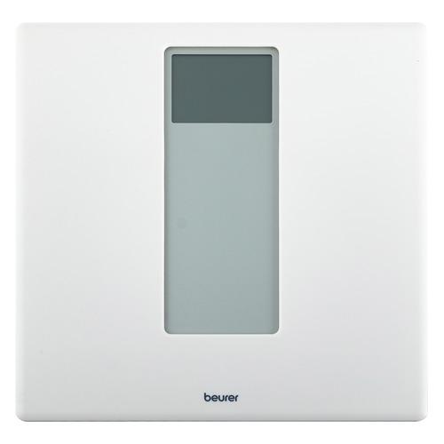 Напольные весы BEURER PS160, до 180кг, цвет: белый [725.30] напольные весы beurer ps240 до 180кг цвет черный [754 15]