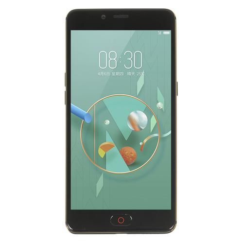 Смартфон NUBIA N2 64Gb, черный/золотистый смартфон nubia z17 mini 64gb черный золотистый