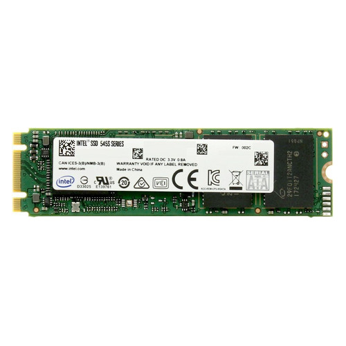 SSD накопитель INTEL 545s Series SSDSCKKW512G8X1 512Гб, M.2 2280, SATA III [ssdsckkw512g8x1 958688]  - купить со скидкой