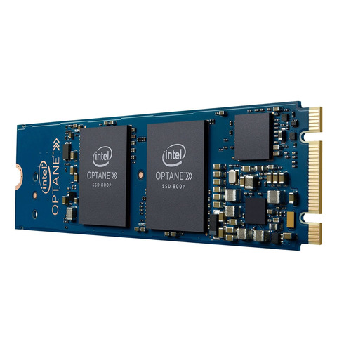 SSD накопитель INTEL Optane 800P SSDPEK1W060GA01 60Гб, M.2 2280, PCI-E x2, NVMe [ssdpek1w060ga01 960258] m 2 solid state hard drive heat sinks nvme ssd full aluminum heat sink for pc cooling system