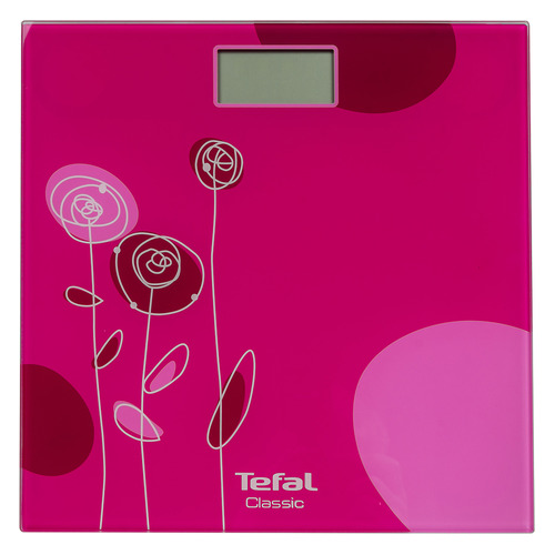 лучшая цена Напольные весы TEFAL PP1147V0, до 160кг, цвет: розовый [2100101964]