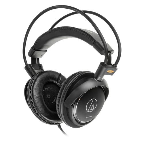 Наушники AUDIO-TECHNICA ATH-AVC500, 3.5 мм, мониторные, черный [15118254] ATH-AVC500 по цене 5 140