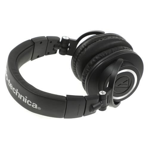Наушники AUDIO-TECHNICA ATH-M50X, 3.5 мм, мониторные, черный [15117007]