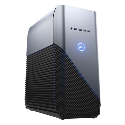 Компьютер DELL Inspiron 5680, Intel Core i5 8400, DDR4 8Гб, 1000Гб, 128Гб(SSD), NVIDIA GeForce GTX 1060 - 6144 Мб, DVD-RW, Windows 10 Home, серебристый и черный [5680-7222] рельсы hp 1u small form factor ball bearing gen8 rail kit 663201 b21