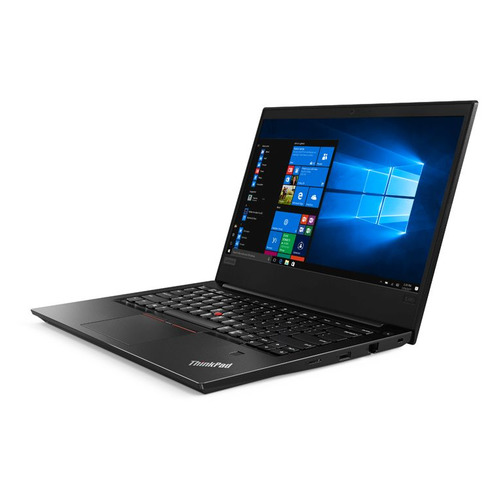Ноутбук LENOVO ThinkPad E480, 14, IPS, Intel Core i5 8250U 1.6ГГц, 8Гб, 1000Гб, Intel UHD Graphics 620, Windows 10 Professional, 20KN0069RT, черный ноутбук lenovo thinkpad edge e480 intel core i5 8250u 1600 mhz 14 1920x1080 8gb 1000gb hdd dvd нет intel uhd graphics 620 wi fi bluetooth windows 10 pro