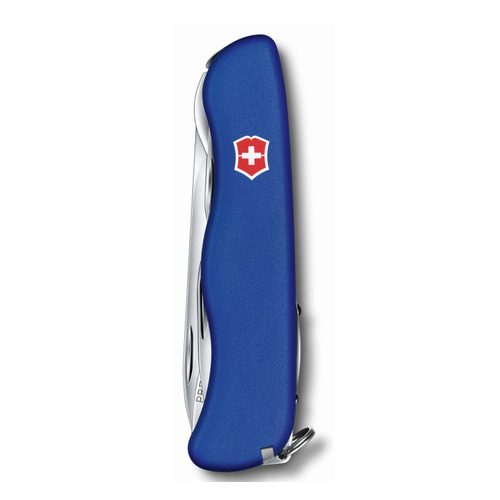 Складной нож VICTORINOX Forester, 12 функций, 111мм, синий складной нож victorinox picknicker 11 функций 111мм зеленый