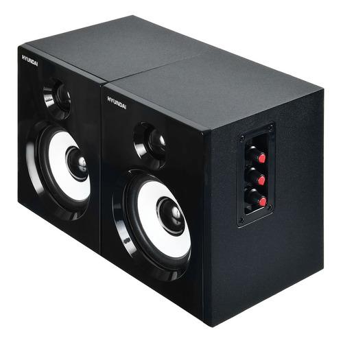 Акустическая система HYUNDAI H-HA120, 2.0, черный цена 2017