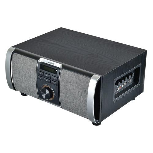 цена на Музыкальный центр HYUNDAI H-MAC120, серый