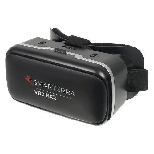 Фото - Очки виртуальной реальности SMARTERRA VR2 Mark 2, черный [3dsmvr2mk2bk] очки виртуальной реальности smarterra vr2 mark 2 черный [3dsmvr2mk2bk]
