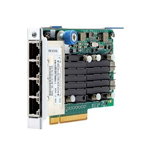 Адаптер HPE 764302-B21 FlexFabric 10Gb 4-port 536FLR-T адаптер hpe lpe1205a 8gb fc hba opt 659818 b21