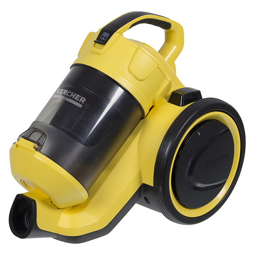 Пылесос KARCHER VC 3, 700Вт, желтый/черный пылесос моющий karcher se4001 1400вт желтый черный