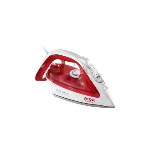 лучшая цена Утюг TEFAL FV3962E0, 2400Вт, белый/ красный [1830006853]