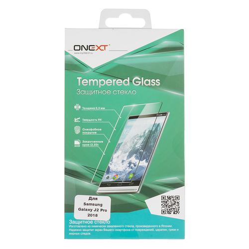 цена на Защитное стекло для экрана ONEXT для Samsung Galaxy J2 Pro 2018, 1 шт, прозрачный [41588]