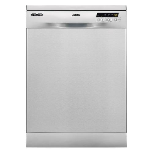 Посудомоечная машина ZANUSSI ZDF26004XA, полноразмерная, серебристая посудомоечная машина zanussi zdt92400fa