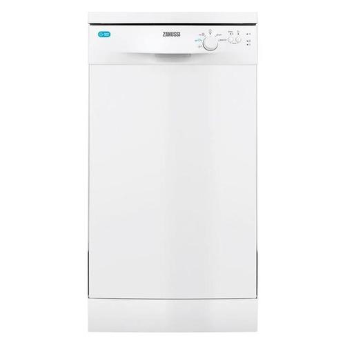Посудомоечная машина ZANUSSI ZDS12002WA, узкая, белая посудомоечная машина zanussi zdt92400fa