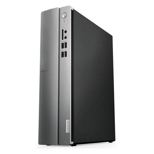 Компьютер LENOVO IdeaCentre 310S-08IAP, Intel Pentium J4205, DDR3 4Гб, 500Гб, Intel HD Graphics 505, Free DOS, черный и серебристый [90ga000nrs] sheli laptop motherboard for toshiba l500 kswaa la 4982p k000086440 ddr3 integrated graphics card 100