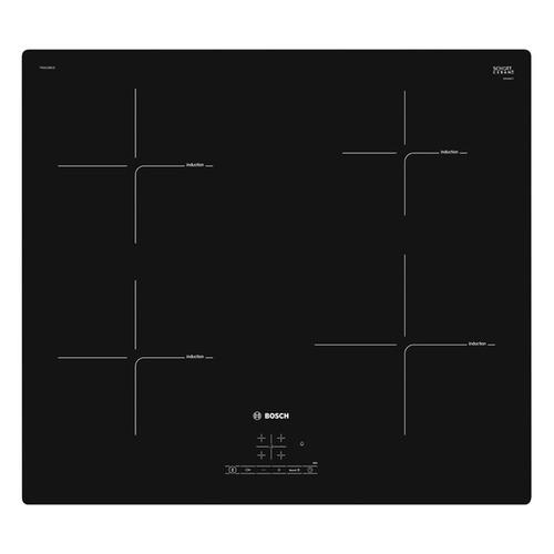 Индукционная варочная панель BOSCH PUG611BB1E, индукционная, независимая, черный цена и фото