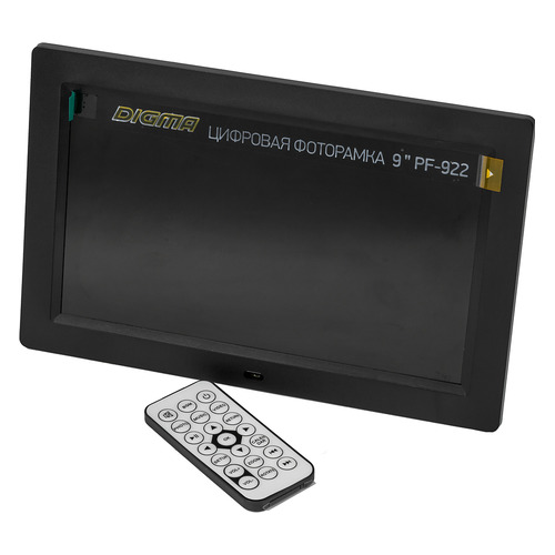 Фото - Цифровая фоторамка DIGMA PF-922, 9, черный [pf922bk] фоторамка digma pf 1033