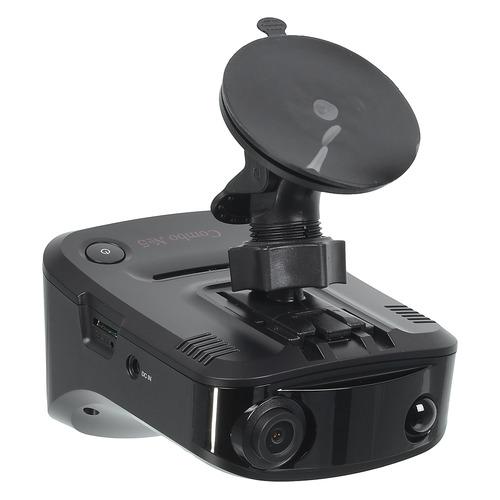Видеорегистратор с радар-детектором Sho-Me COMBO №5 А12 GPS ГЛОНАС черный радар детектор sho me combo 5 а7