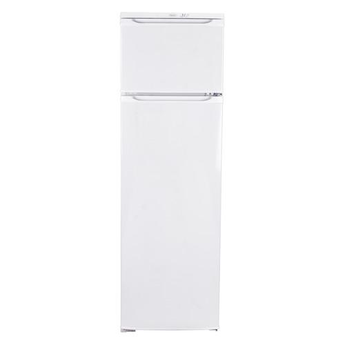 Холодильник Бирюса Б-124, двухкамерный, белый холодильник бирюса б 649 белый двухкамерный