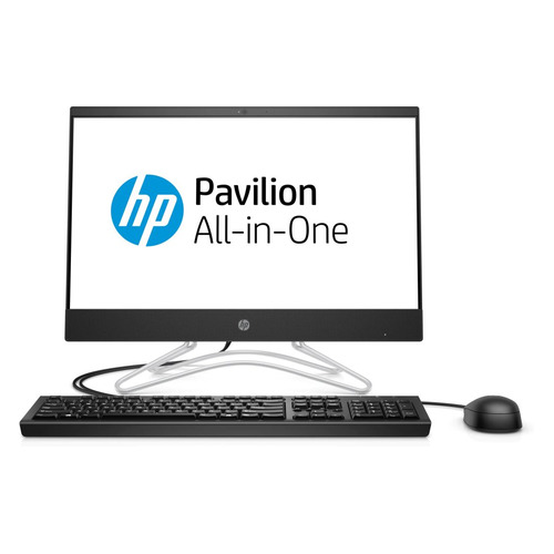 Моноблок HP 200 G3, 21.5, Intel Core i3 8130U, 4Гб, 1000Гб, 128Гб SSD, Intel UHD Graphics 620, DVD-RW, Free DOS, черный [3zd38ea] моноблок 21 5 hp 22 c0018ur 1920 x 1080 intel core i3 8130u 4gb 1 tb intel uhd graphics 620 dos белый 4hd56ea 4hd56ea