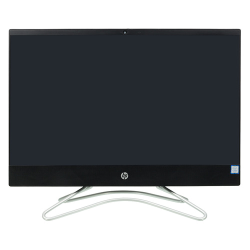 "Моноблок HP 200 G3, 21.5"", Intel Core i5 8250U, 4Гб, 1000Гб, Intel UHD Graphics 620, DVD-RW, Free DOS, черный [3va38ea] моноблок hp proone 400 g2 intel core i5 6500t 4гб 500гб intel hd graphics 530 dvd rw free dos черный и серебристый [t4r08ea]"