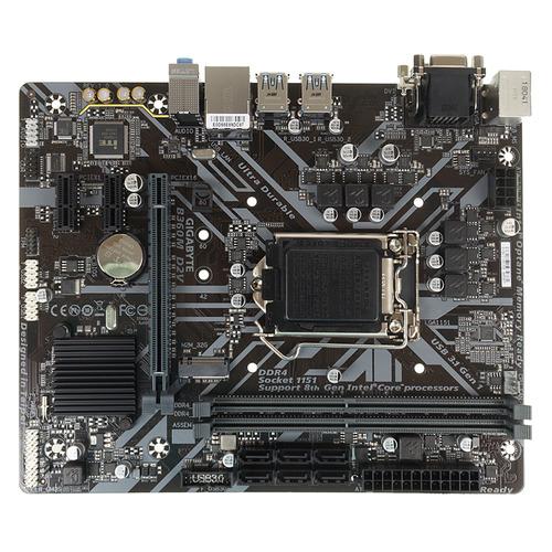 Материнская плата GIGABYTE B360M D2V, LGA 1151v2, Intel B360, mATX, Ret материнская плата gigabyte z370m ds3h lga 1151v2 intel z370 matx ret