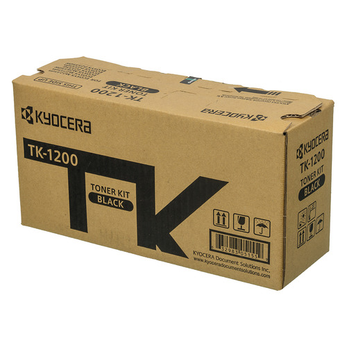Фото - Картридж KYOCERA TK-1200, черный / 1T02VP0RU0 блок проявки kyocera dv 1200 302vb93010 для p2335d p2335dn p2335dw m2235dn m2735dn m2835dw