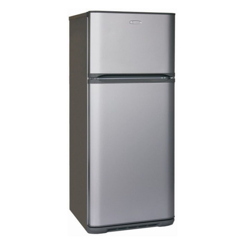 Холодильник БИРЮСА Б-M136, двухкамерный, серебристый холодильник бирюса б 633 двухкамерный белый