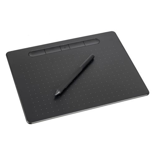 Графический планшет WACOM Intuos M CTL-6100WLK-N А5 черный