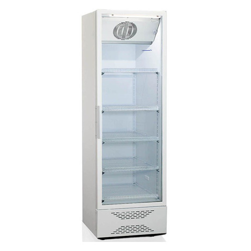 лучшая цена Холодильная витрина БИРЮСА Б-520N, однокамерный, белый