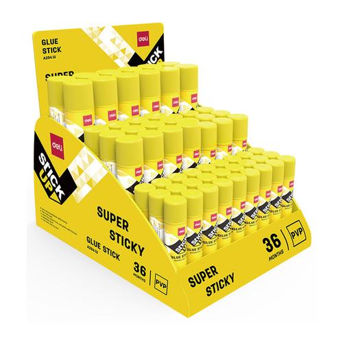 Клей-карандаш (упаковка) DELI EA20413 EA20413, 9грамм, прозрачный недорого