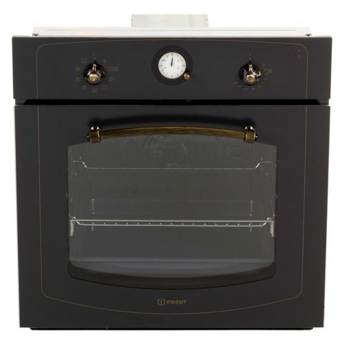 Духовой шкаф INDESIT IFVR 801 H AN, антрацит электрический духовой шкаф indesit ifvr 500 an anthracite